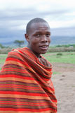 Homem africano, Masai Mara, Kenya Foto de Stock Royalty Free
