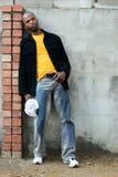Homem africano novo Fotografia de Stock Royalty Free
