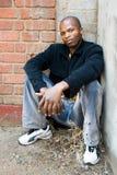 Homem africano novo Imagem de Stock Royalty Free
