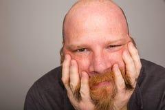 Homem amável e paciente Fotos de Stock Royalty Free