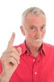 Homem aposentado Imagens de Stock Royalty Free