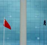 Homem-aranha chinês Imagens de Stock