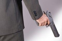 Homem armado Fotografia de Stock Royalty Free