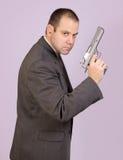 Homem armado Imagens de Stock Royalty Free