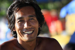 Homem asiático Imagem de Stock Royalty Free