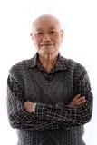 Homem asiático idoso Imagem de Stock Royalty Free