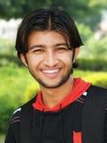 Homem asiático novo feliz Fotografia de Stock Royalty Free
