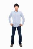 Homem asiático novo fotografia de stock royalty free