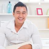 Homem asiático Imagens de Stock Royalty Free