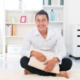 Homem asiático novo Foto de Stock Royalty Free