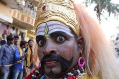 Homem assustador Fotografia de Stock Royalty Free