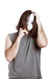 Homem assustador estranho Imagens de Stock