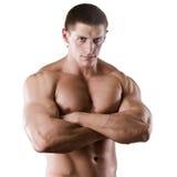 Homem atlético foto de stock