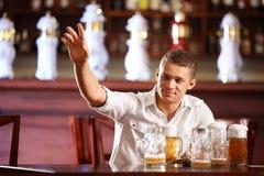Homem bêbedo imagens de stock