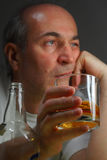Homem bêbedo imagem de stock