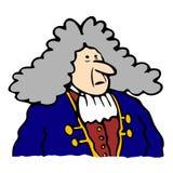 Homem barroco Ilustração Royalty Free