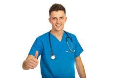 Homem bem sucedido do doutor Fotos de Stock Royalty Free