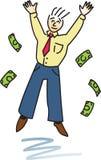 Homem bem sucedido feliz Fotos de Stock Royalty Free