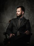 Homem bem vestido considerável Fotos de Stock Royalty Free