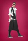 Homem bonito e à moda Fotografia de Stock