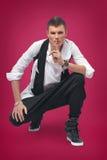 Homem bonito e à moda Foto de Stock Royalty Free