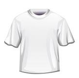 Homem branco do t-shirt ilustração royalty free