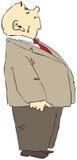 Homem calvo ilustração stock