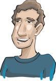 Homem caucasiano ilustração do vetor