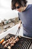 Telhado Grillin Foto de Stock