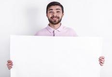 Homem caucasiano feliz Imagens de Stock