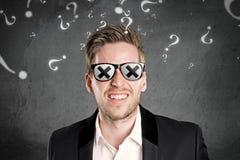 Homem cego Fotos de Stock