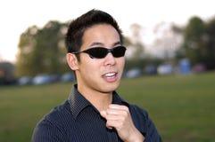 Homem chinês Imagem de Stock Royalty Free