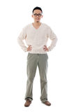 Homem chinês asiático do sudeste Foto de Stock Royalty Free