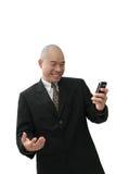 Homem chinês no terno Imagens de Stock