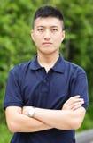 Homem chinês novo Imagens de Stock Royalty Free