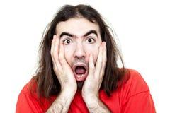 Homem choc Imagens de Stock