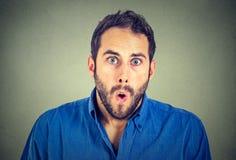 Homem choc fotos de stock