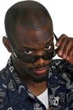 Homem com óculos de sol imagem de stock royalty free