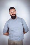 Homem com barba Fotos de Stock