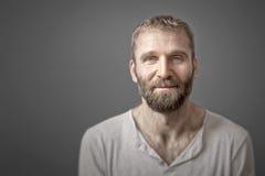 Homem com barba Foto de Stock