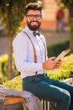 Homem com barba Fotografia de Stock Royalty Free
