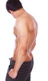 Homem com corpo 'sexy' Foto de Stock Royalty Free