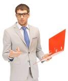 Homem com dobradores Imagem de Stock Royalty Free