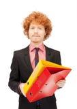 Homem com dobradores Imagens de Stock Royalty Free