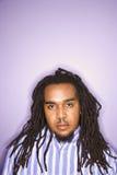 Homem com dreadlocks. foto de stock royalty free