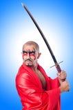 Homem com espada Fotografia de Stock