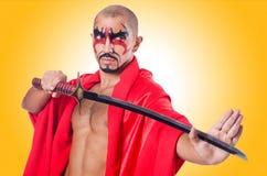 Homem com espada Imagem de Stock