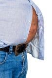 Homem com excesso de peso Foto de Stock
