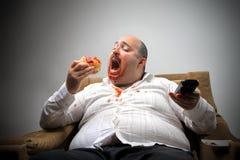 Homem com fome Imagem de Stock Royalty Free