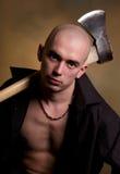 Homem com machado. Fotos de Stock Royalty Free